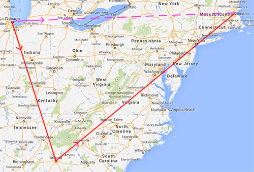 Southwest routes